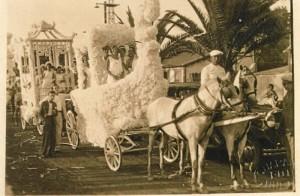 Magnífica fotografía del Coso Blanco de Huelva en 1930.