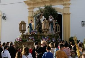 Cartaya abre su semana Santa con La Borriquita.