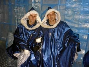 Al onubense siempre le ha gustado viajar. En la la imagen, junto a su amigo Diego, también onubense. durante su Erasmus en Suecia.