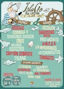 Cartel del Festival isleño.