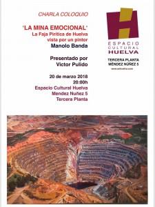 Cartel del encuentro que se celebrará el próximo 20 de marzo.