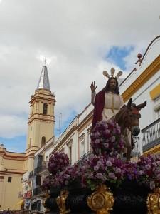 La borriquita abre el Domingo de Ramos.