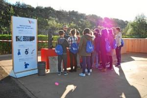 El programa se basa en una charla amena, divertida y práctica en los colegios.