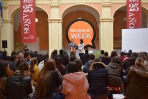 Comienza la II Business Week en la Universidad de Huelva.