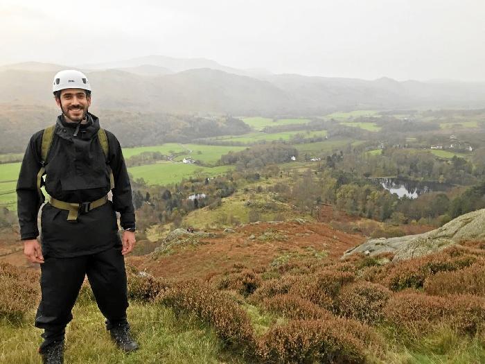 El ingeniero aeronáutico sanjuanero Carlos Fernández trabaja en Bristol en Airbus, empresa de la que ha sido imagen internacional