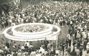 En la Plaza de las Monjas no cabía un alfiler. / Foto: R. Pereira.