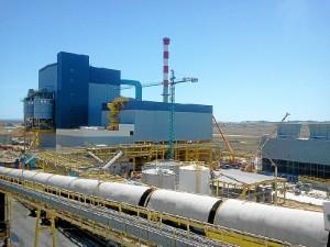Vista de la factoría onubense.
