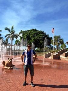 Por la zona de 'West Palm Beach'.