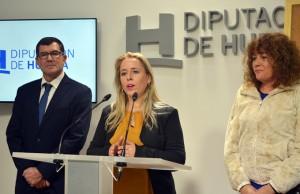La alcaldesa de El Almendro presentó el V Centenario de la localidad.