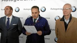 El evento ha sido presentado este jueves en las instalaciones de BMW Autogotransa. / Foto: Jesús Bellerín.