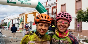 Triunfo de María Isabel Felipe en la categoría Élite femenina. / Foto: andaluciaciclismo.com.