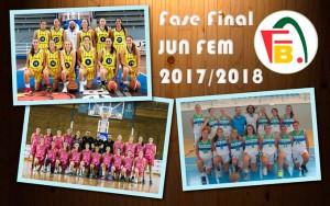 Muy competida se presenta la fase final del Provincial Junior de baloncesto femenino.