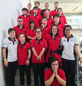 Representantes del CODA en el Campeonato de España de Natación que se va a celebrar en San Fernando (Cádiz).