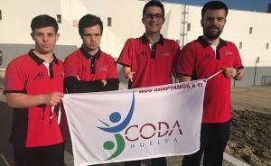 Nadadores del CODA que estarán en la importante cita en Castellón.
