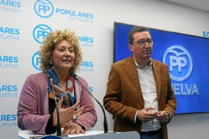 El PP presenta a Pilar Marín como candidata a la Alcaldía de Huelva.