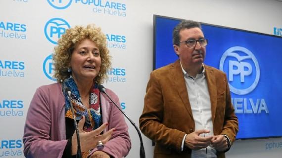 El PP presenta a Pilar Marín como candidata a la Alcaldía de Huelva
