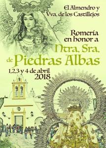 Cartel de la romería de 2018.