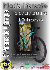 Cartel de la prueba ciclista que tendrá lugar en Aljaraque.