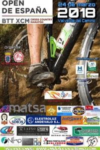 Cartel anunciador de la prueba que tendrá lugar en Valverde del Camino.