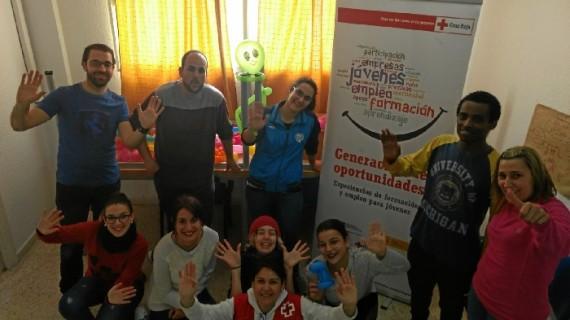 Cruz Roja Huelva refuerza los proyectos de formación para el empleo juvenil