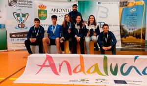 Los representantes del Recre IES La Orden en el Campeonato de Andalucía Sub 15 y Sub 19.