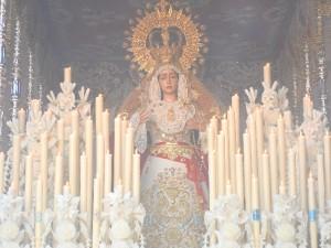 Salida de la Virgen de la Misericordia.
