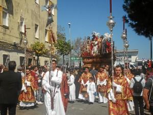 La primera levantá ha estado dedicada al Ayuntamiento de Huelva.