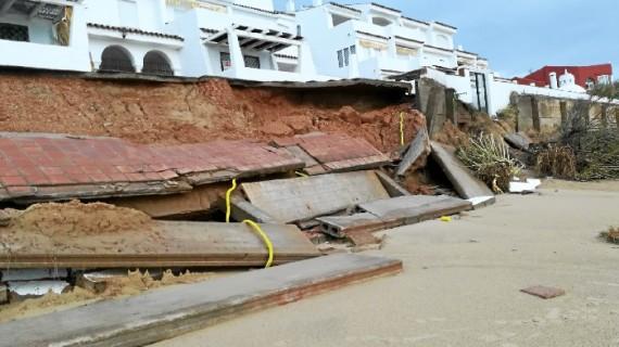 Huelva hace balance del temporal tras el registro en el 112 de 61 incidencias en la provincia