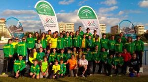 Excelente actuación del Club Piragüismo Tartessos Huelva en el Campeonato de Andalucía de Invierno.