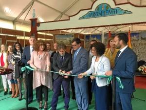 Foto de archivo: inauguración de la Feria de la pasada edición.