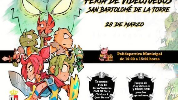 San Bartolomé de la Torre acoge una Feria de Videojuegos para todos los públicos