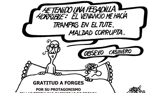 FORGES. Casinero de la sonrisa