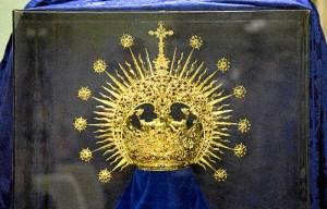 La nueva corona que lucirá su titular el próximo Viernes de Dolores.