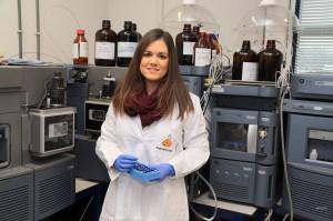 La química triguereña Elisabeth Franco Cáceres.