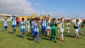 El Málaga, brillante vencedor de la Gañafote Cup 2018 Alevín tras ganar en la final al Córdoba.