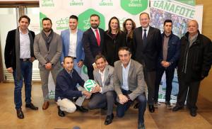 Un momento de la presentación este martes de la II Gañafote Cup, acto que ha tenido lugar en la Diputación Provincial.