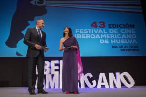 Gala inaugural del 43 Festival de Cine Iberoamericano de Huelva.