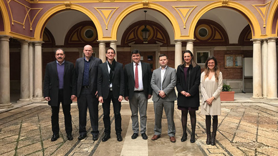 La Federación Europea de Bádminton supervisa la organización del Europeo Absoluto 'Huelva 2018'