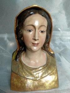 El resultado de la restauración fue presentado en el Monasterio de Santa Clara de Moguer, en el marco de una exposición sobre el Voto Colombino.