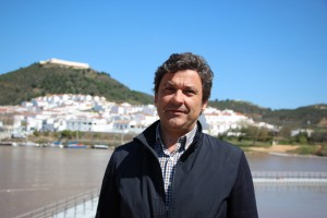 El teniente alcalde de Alcoutim, Paulo Jorge Cavano Paulino.