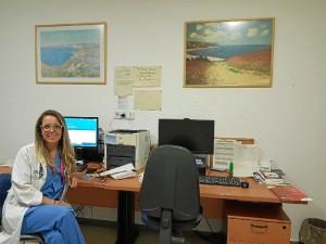 Mónica está muy contenta en Málaga, pero no se olvida de Huelva, a la que viene, al menos, una vez al mes.
