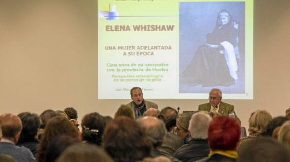José María Acosta exalta la figura de Elena Whishaw, calificándola como una mujer adelantada a su época