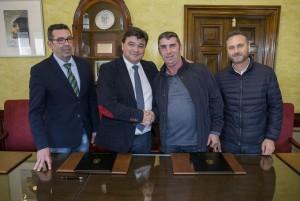 Acuerdo entre el Ayuntamiento de Huelva y la Asociación 'Reto a la Esperanza'.