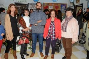 Franco, en el centro, también participa en el proyecto.