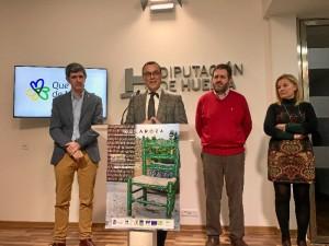 Presentación de las XXXIII Jornadas de Patrimonio de la Sierra en la Diputación de Huelva.