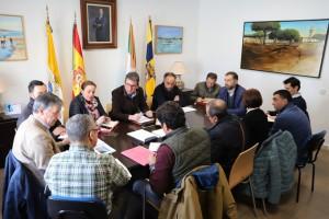 Reunión de la Junta de la Mancomunidad de Mazagón.