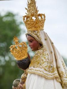 Sagrada Imagen de la Virgen de la Peña.