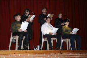 Lectura dramatizada en el centro penitenciario de Huelva.