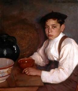 Una de las obras incluida en los fondos de Bellas Artes del Museo de Huelva. / Foto: Museo de Huelva.