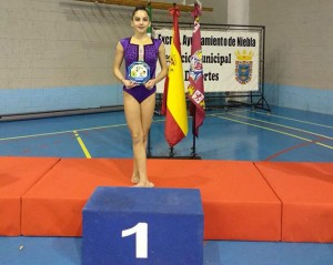 Bella Fernández, oro en Senior A con aro en el Torneo Ilipa.
